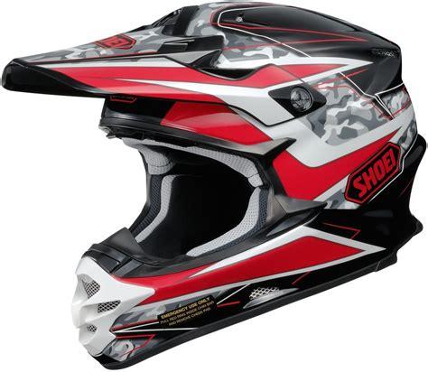 shoei helmets motocross 404 33 shoei vfx w turmoil dot approved motocross mx 995196