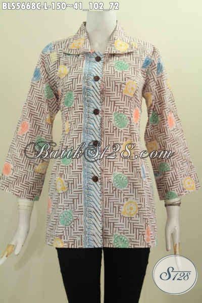 Baju Kerja Baju Jawa Basofi Rapih Banget sedia batik blus halus motif keren proses cap model kerah kotak cocok banget untuk seragam