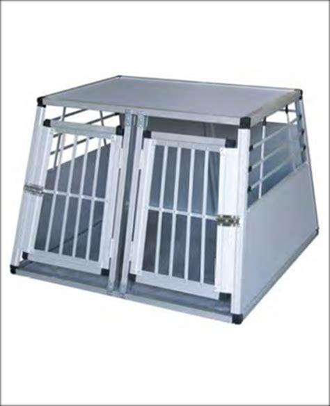 gabbie cani alluminio trasportini doppio in alluminio