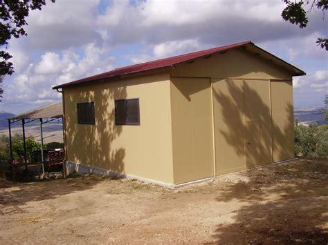 capannone metallico box e autorimesse a z prefabbricati siena