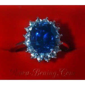 King Sapphire Ring Emas Putih by Direktori Toko Kiosmaya Web Spider This