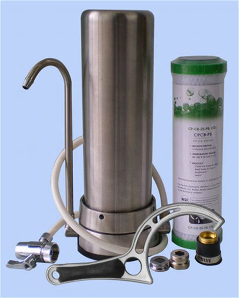 stainless bench top benchtop water filters