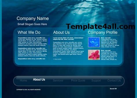free flash templates for websites in html free flash website templates 187 page 5