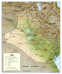 www map of maps of iraq detailed map of iraq in tourist