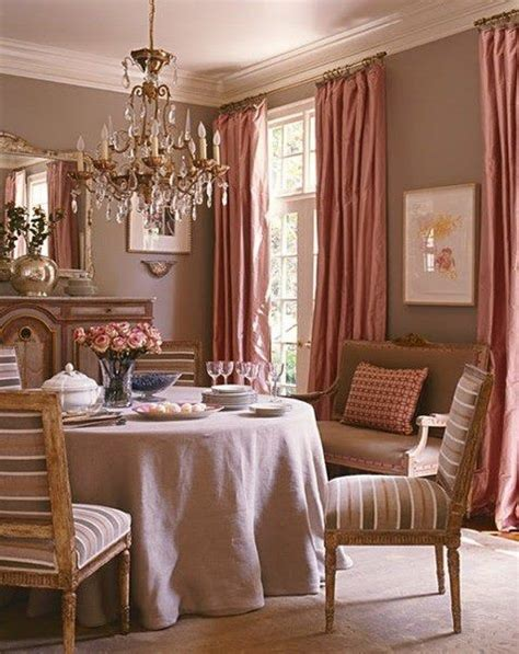 mauve pink dining design pinterest