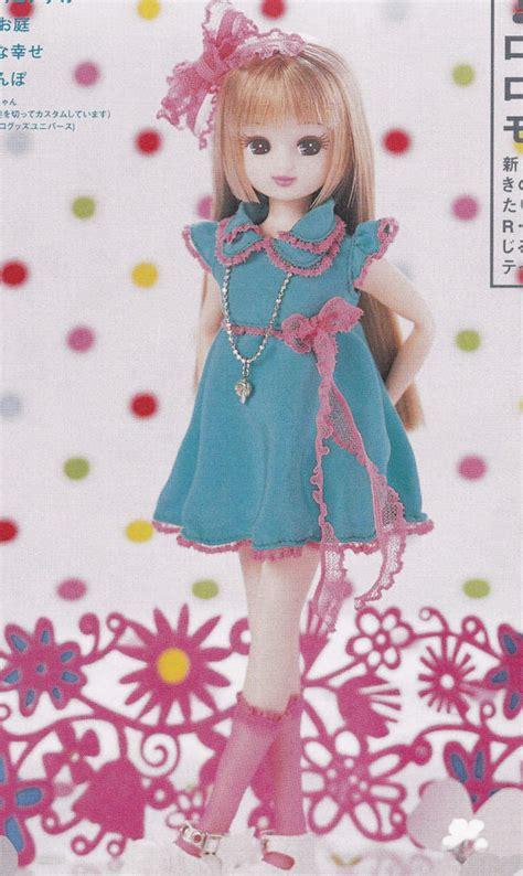 Licca Batik Dress licca blythe doll bl flare girly dress with socks set pdf e pattern in japanese