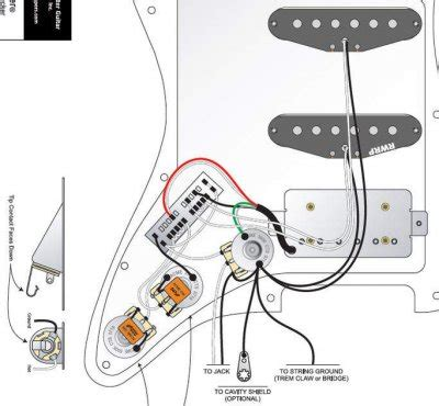 fender mij strat hss wiring diagram