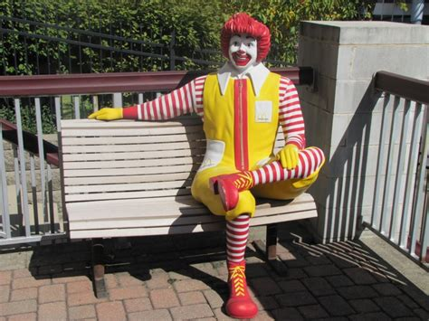 ronald mcdonald bench joel mccrea the david allen blog