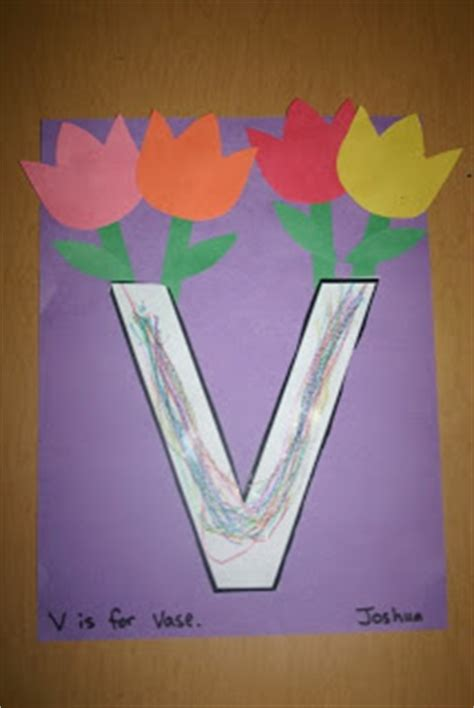 V Is For Vase by V Is For Vase And Violin Blessings Overflowing