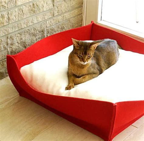 luxury cat beds luxury felt bowl cat bed chelsea cats