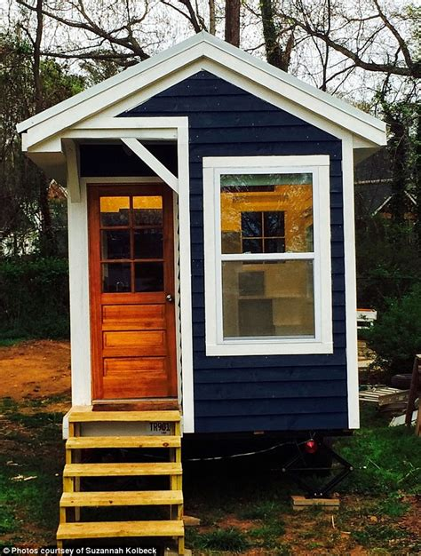 tiny houses 10000 home home 14 builds herself a tiny 10 000