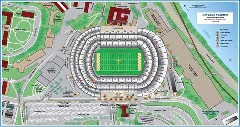 neyland stadium map neyland stadium map my