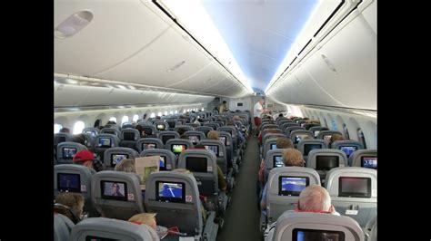 dreamliner cabin new boeing 787 dreamliner on board cabin views