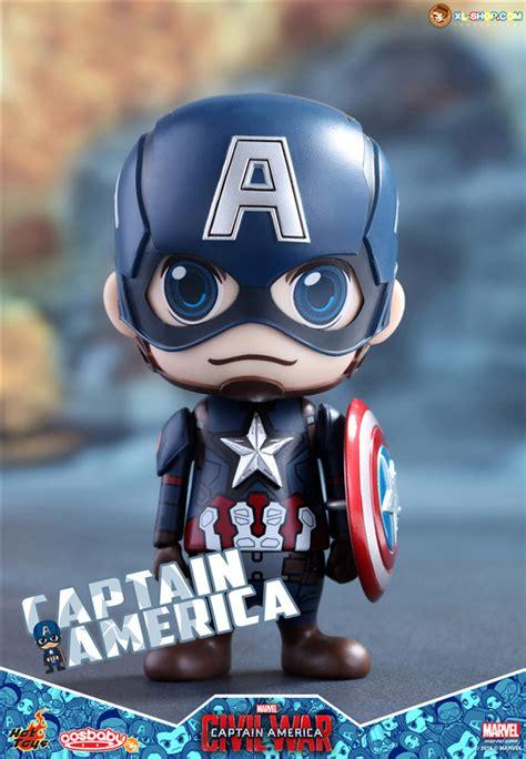Figure Cosb Aby Cosb 253 Captain America Civil War Black Panther toys cosb199 captain america civil war captain america cosbaby bobble