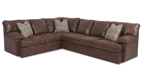 klaussner sectional sofa klaussner walton casual sectional sofa olinde s