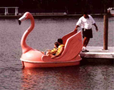 pedal boat upgrades pink flamingo pedal boat