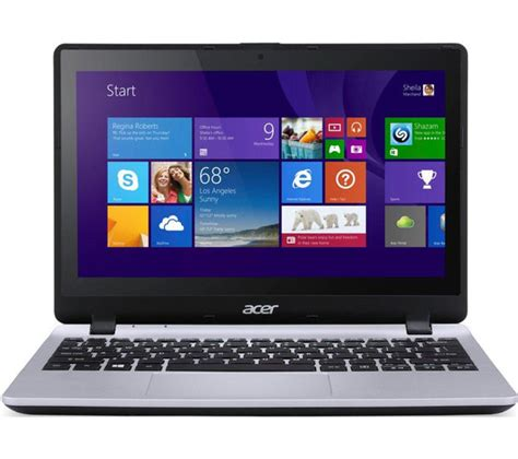 Laptop Acer Windows 8 Touch Screen buy acer aspire v3 112p refurbished 11 6 touchscreen laptop silver pay as you go mifi