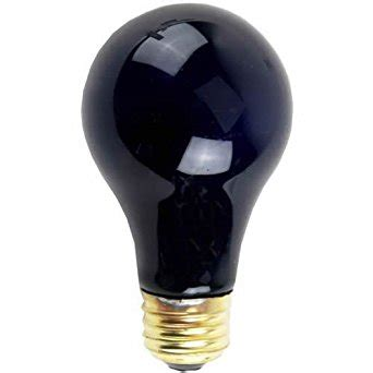 Black Light Bulbs by Ge Lighting 25905 60 Watt A19 Black Light Bulb 6 Pack