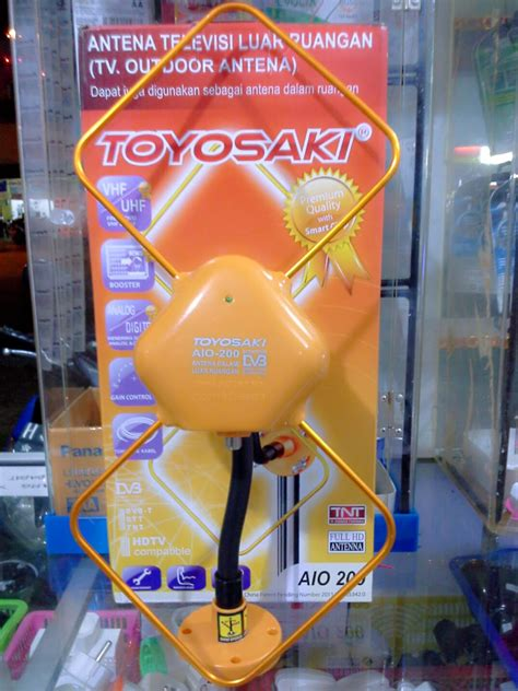 Antena Toyosaki Aio 200 Jual Antena Outdoor Yang Bisa Indoor Toyosaki Dilengkapi