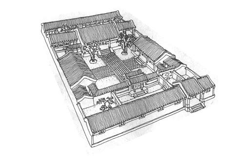 traditional chinese house plans traditional chinese courtyard house floor plan home design and style