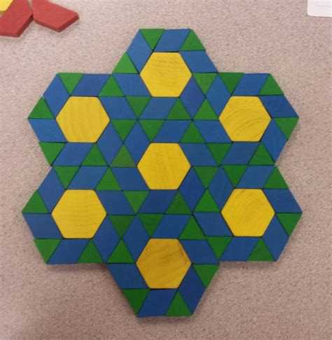 art using pattern blocks tessellations ashley short s e portfolio