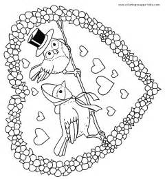 free coloring pages valentine