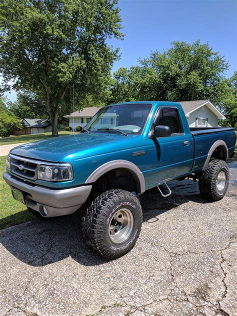 Shortbed 1997 Ford Ranger Xlt Lifted For Sale