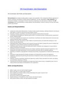 Hr Coordinator Sle Resume by Human Resources Coordinator Resume Sales Coordinator