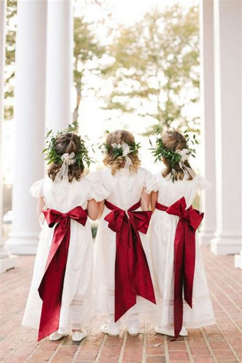 fall red wedding ideas    deer pearl