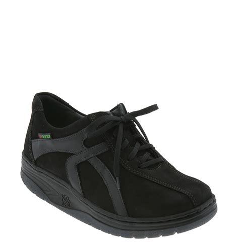 black walking sneakers mephisto sano by evasion walking shoe in black black