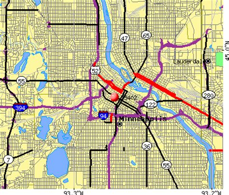 minneapolis zip code map zip code minneapolis minnesota