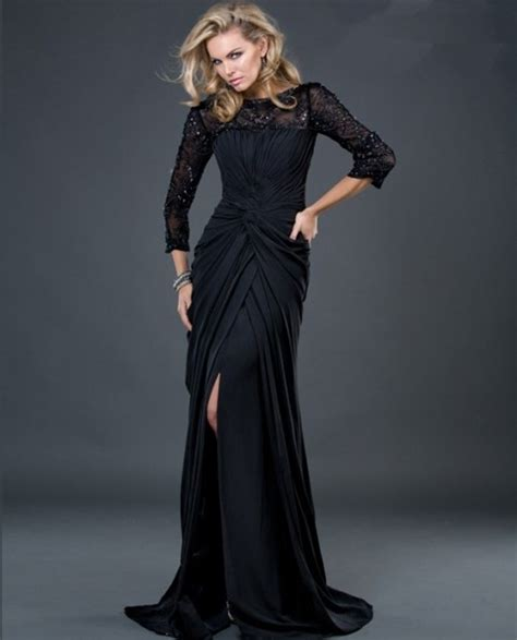 Evening gowns with sleeves 4 photo