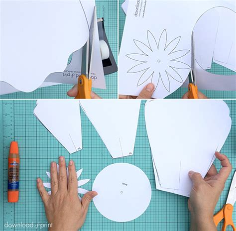 How To Make Big Flowers Out Of Paper - paper roses diy my wedding help budget wedding