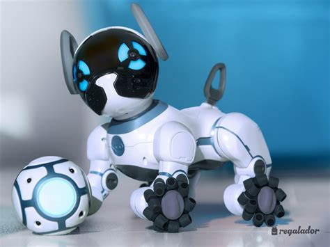 chip robot perro robot el perro chip un canino particular dogalize