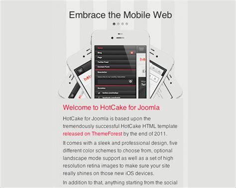 Joomla Mobile Template by 21 Mobile Joomla Templates Themes Free Premium