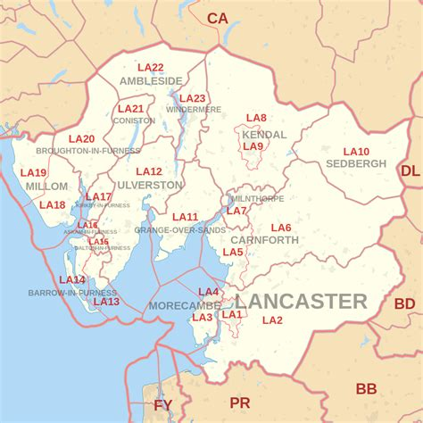 map of areas in file la postcode area map svg wikimedia commons