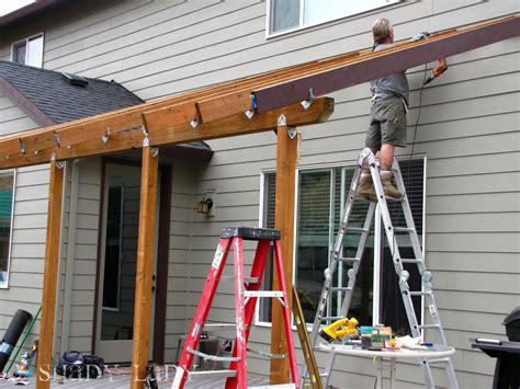 patio roof backyard deck build a deck