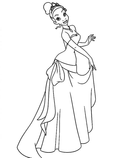 full page disney princess coloring pages 17 best the princess and the frog disney coloring pages