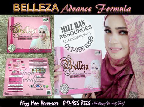 Belleza Advance mizzhan resources belleza advanced formula baru