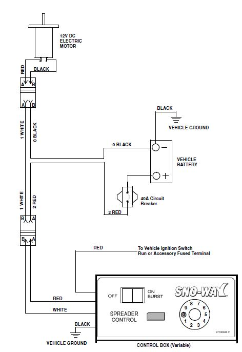 western salt spreader controller wiring diagram