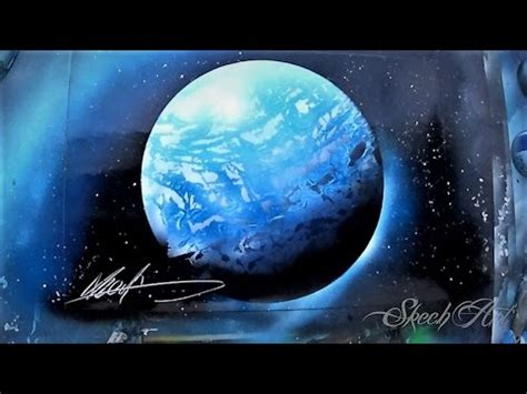 spray paint planet how to spray paint 3d planet and tutorial