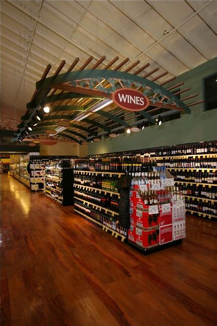 grocery store winery interior market decor grocery