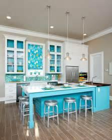 Turquoise Kitchen Ideas Tasty Turquoise Kitchens Dans Le Lakehouse