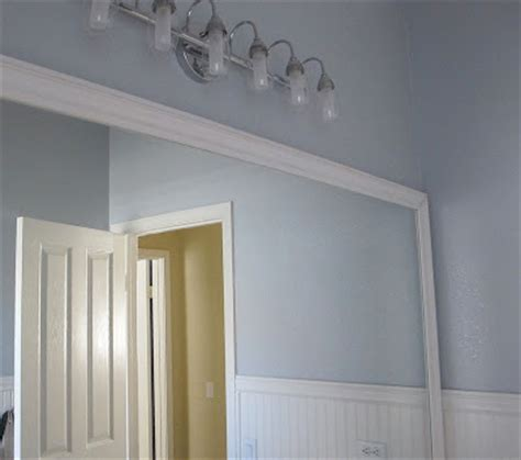 mirror trim for bathroom mirrors framing a bathroom mirror archives my uncommon slice of