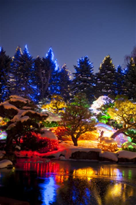 Denver Botanic Gardens Blossoms Of Light Blossoms Of Light