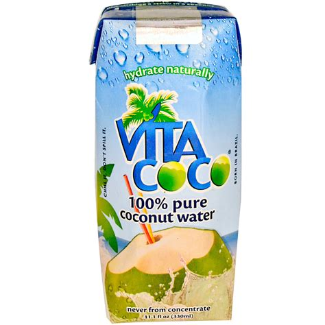 coconut water for dogs vita coco 100 coconut water 11 1 fl oz 330 ml iherb