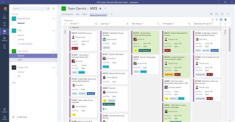Microsoft Teams With Azure Devops Services And Team Foundation Server Microsoft Docs Tfs Kanban Process Template