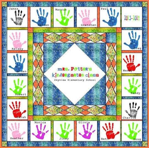Handprint Quilt by 27 Best Images About Quilt Handprint On