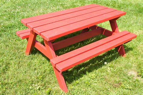 diy picnic bench pdf diy easy plans to build a picnic table download