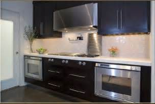 Backsplash Ideas For Small Kitchens Double Ovens Contemporary Kitchen